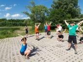 3city camp, barbell technique, Overhead squat