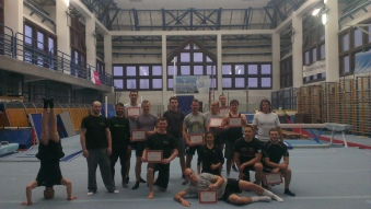 Cracow, Gymnastics, workshop