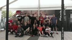 Dropbox Tour in Cracow close to Cracovia stadium